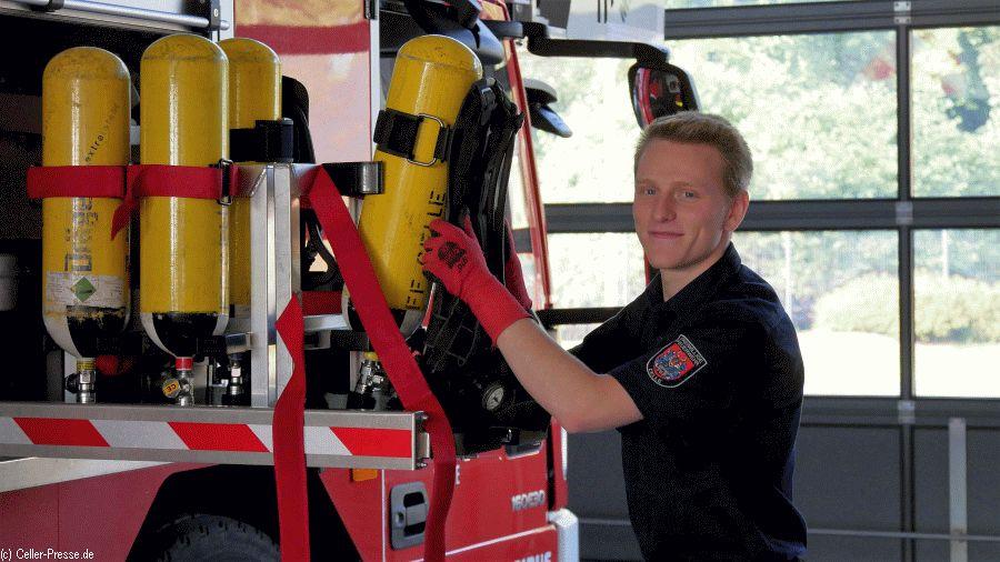 Ein Freiwilliges Soziales Jahr (FSJ) bei der Freiwilligen Feuerwehr Celle