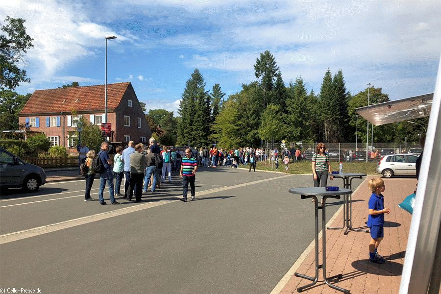 Erfolgreicher Entdeckertag der Region Hannover 2018 in Faßberg