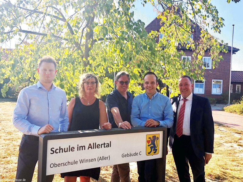 Weg zum Abitur in Winsen: Gemeinde erhält Unterstützung aus Kreispolitik