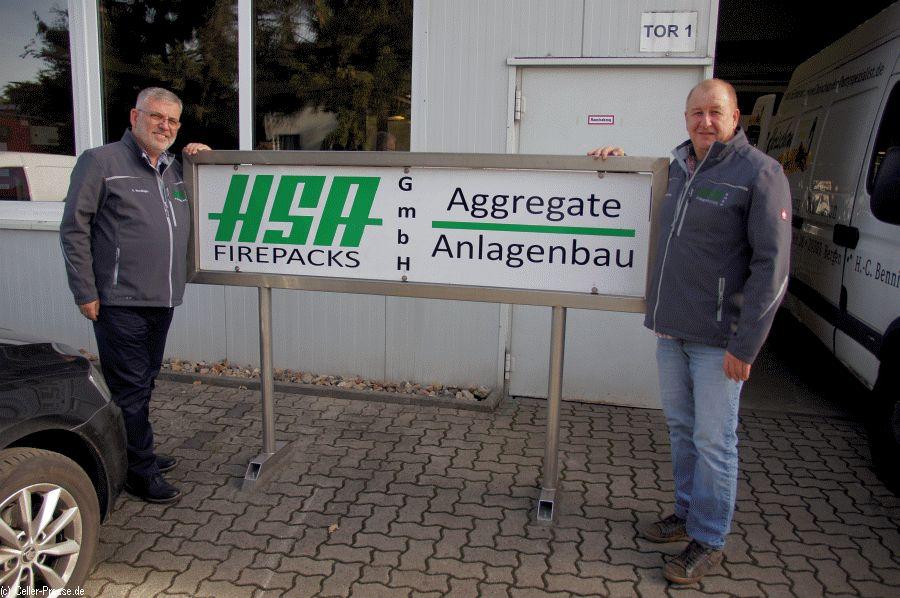 HSA Firepacks eröffnet heute Celler Standort