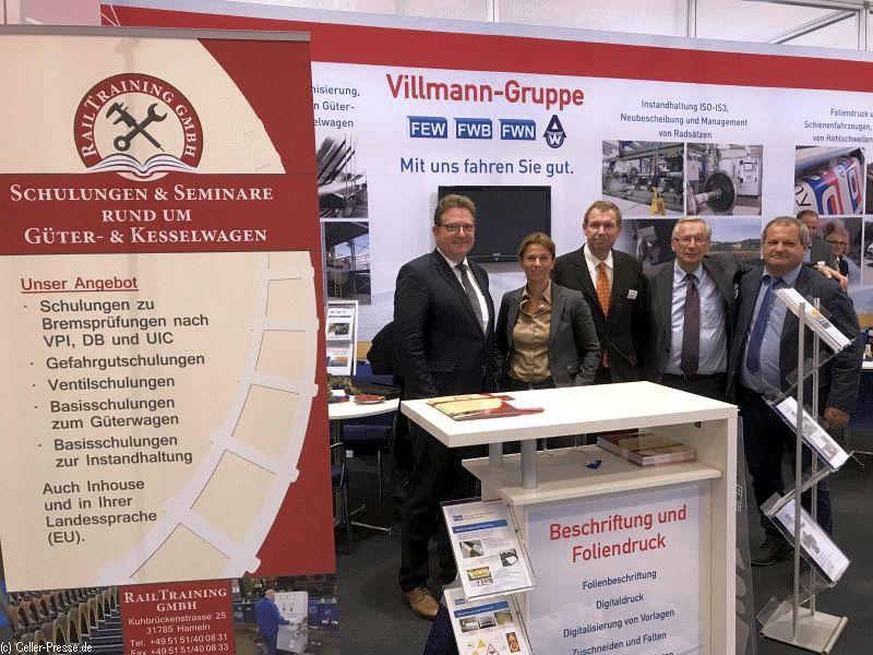 Heimisches weltweit tätiges Unternehmen Villmann auf der InnoTrans Berlin