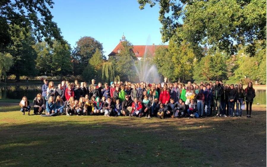 """""""Velkommen til Tyskland!"""" – Kopenhagener Schüler zu Gast an der IGS Celle"""