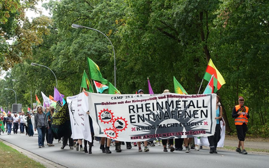 """Demonstration am Sonntag in Unterlüß: """"Rheinmetall entwaffnen – Krieg beginnt hier"""""""