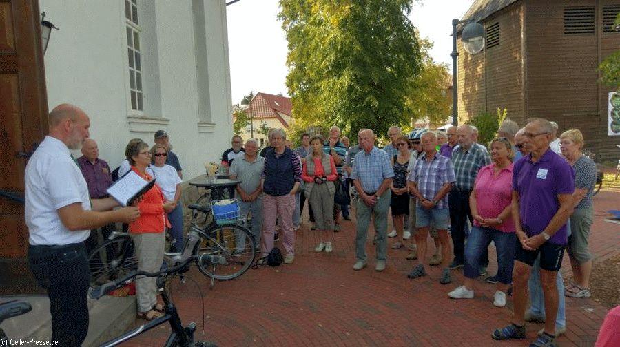 St. Lamberti Kirche wird Radwegekirche – Hotspot der neuen Radthementour