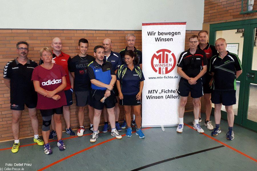 """Tischtennis: TTVN Race beim MTV """"Fichte"""" in Winsen (Aller)"""