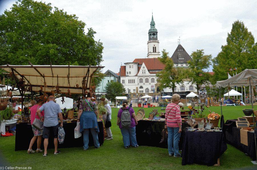 Erster Töpfermarkt am Celler Schloss wurde gut besucht