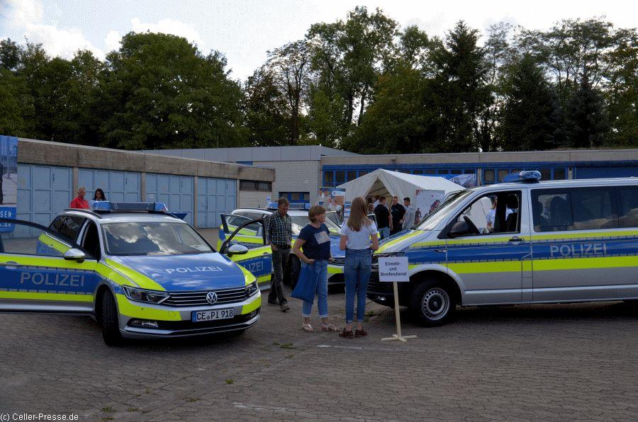 Polizei gab Einblick in ihren Alltag