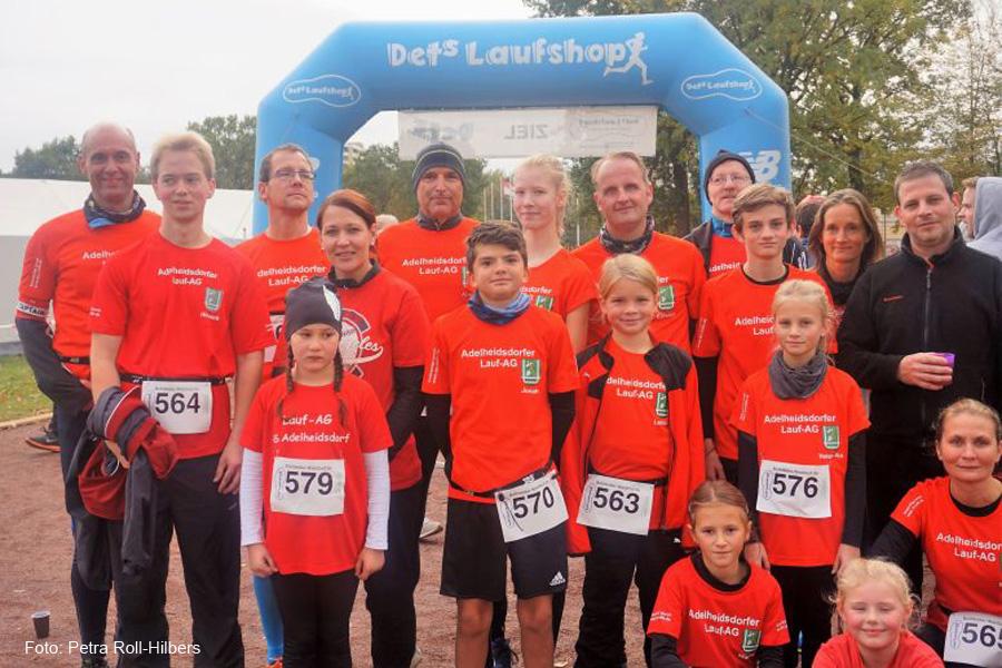 Adelheidsdorfer Lauf-AG nimmt mit starkem Team am Bothfelder Waldlauf teil