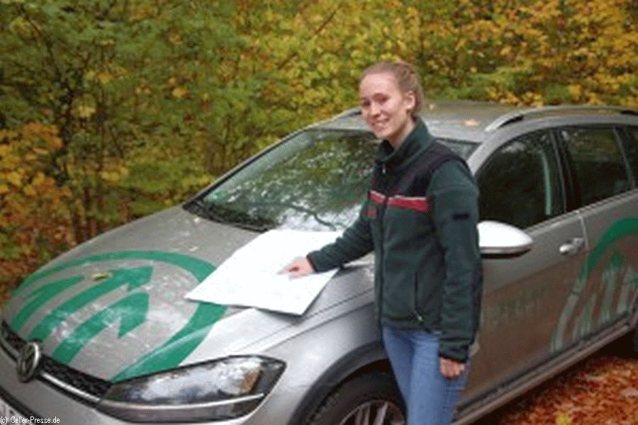 Anne Jantzen übernimmt Naturschutzaufgaben in den Forstämtern Sellhorn und Oerrel