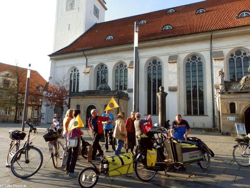 CO2 neutraler Schokoladentransport erreicht Celle
