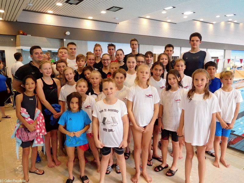 Erfolgreiche Teilnahme der Schwimmer aus dem Kreis Celle Mehrfach Gold in der offenen Wertung sowie in der Jahrgangswertung