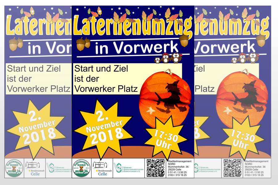Laternenumzug in Vorwerk