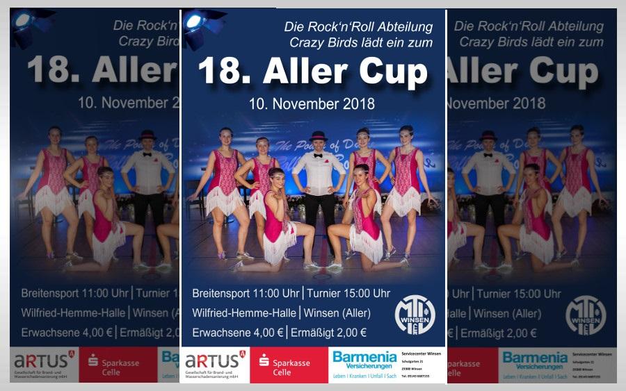 "Rock'n'Roll ""Aller-Cup"" am 10. November in der Wilfried-Hemme-Halle"