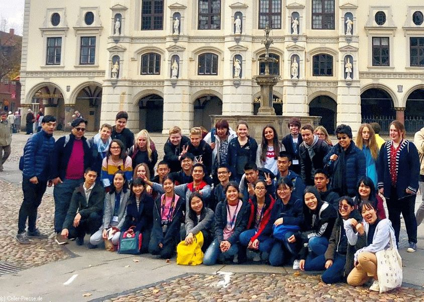 Thailändische Schüler zu Gast in Westercelle