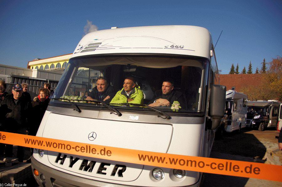 """""""Stadt, Land, Fluss"""" hautnah erleben – Celles neuer Wohnmobil-Stellplatz macht´s möglich – """"Camper, welcome to paradise"""""""