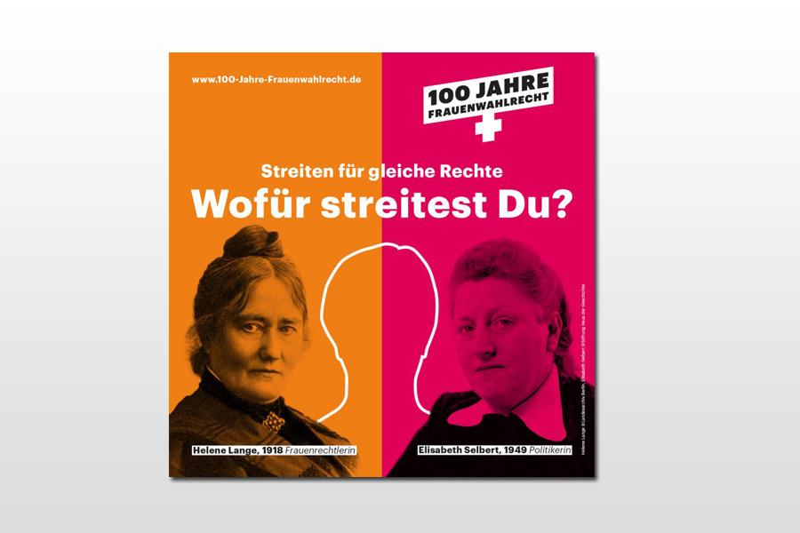 """""""100 Jahre Frauenwahlrecht in Deutschland – und wo stehen wir heute?"""""""