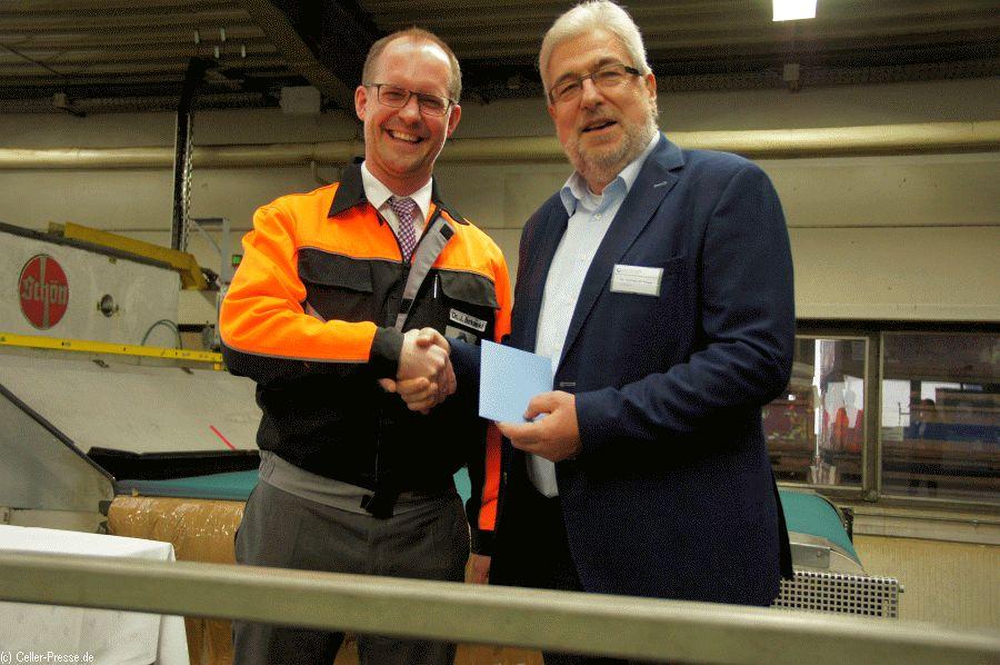 20 Jahre Kooperation zwischen der Firma Auria Solutions GmbH und der Lebenshilfe Celle