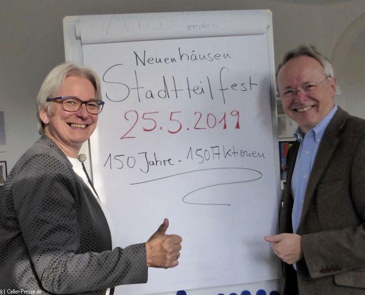 2019 wieder Stadtteilfest in Neuenhäusen – 20. Fest – jetzt in Kooperation mit Volkshochschule Celle