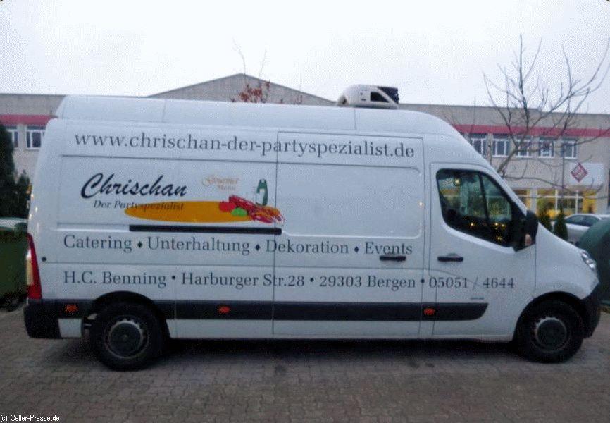 Autodiebe stehlen Partyservice-Transporter