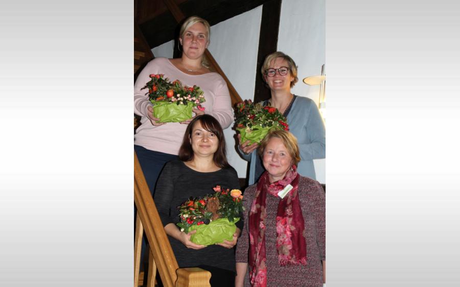 Begrüßung und Verabschiedung – Treffen der Berger Tagespflegepersonen