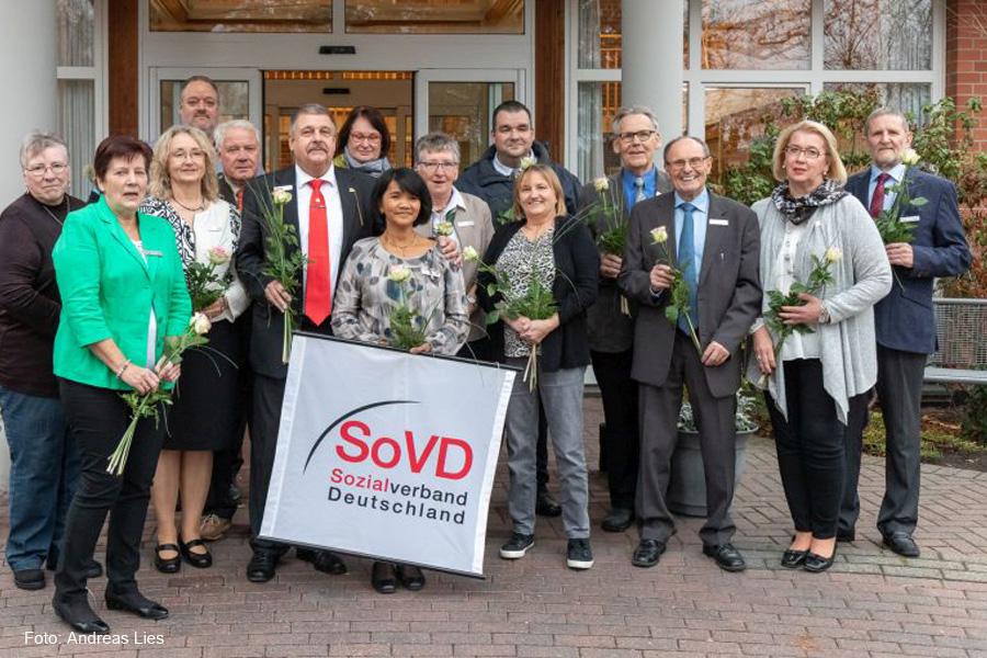 Delegierte beim SoVD-Kreisverbandstag bestätigen Achim Spitzlei als Kreisvorsitzenden