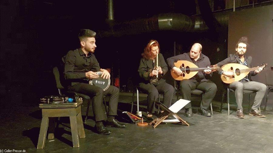Eine Konzertlesung mit dem IBTAHIDSCH Ensemble in Celle – Was ist Glück? ما السعادة