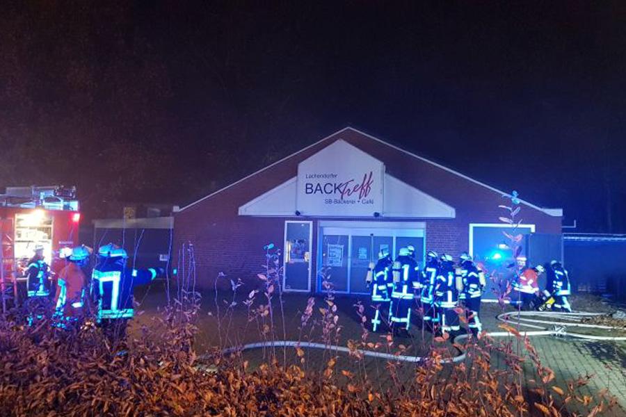 Feuerwehrübung in Lachendorf