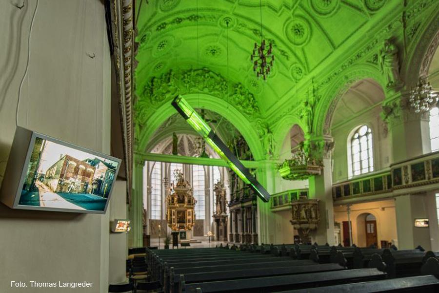 Lichtkunst im Sakralraum – Vortrag von Ulrich Krempel in der Stadtkirche St. Marien Celle