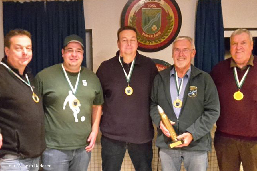 Lucky Loser werden glückliche Gewinner – Dorfvereinsmeisterschaften Thören 2018