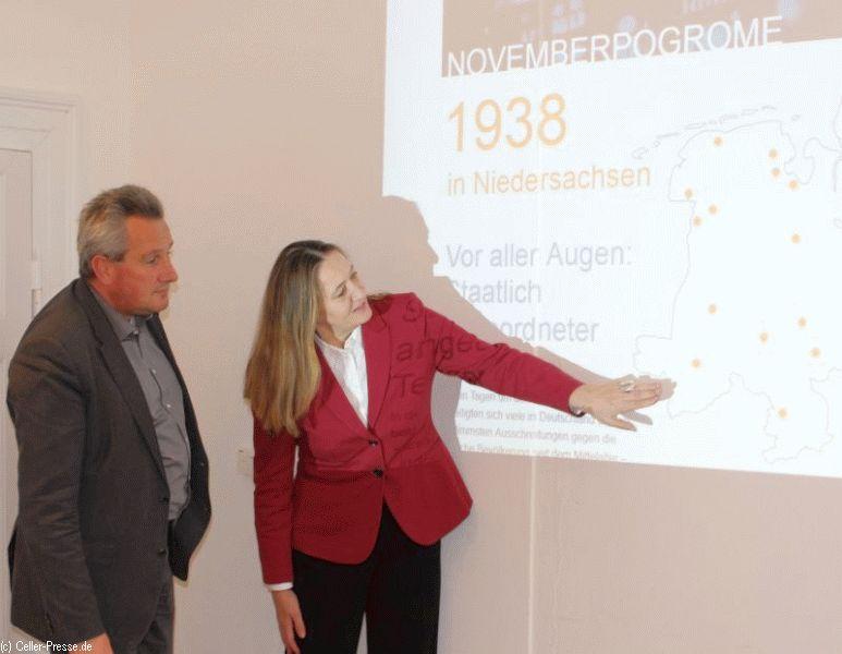 Neue Website zu den Novemberpogromen 1938 in Niedersachsen vorgestellt