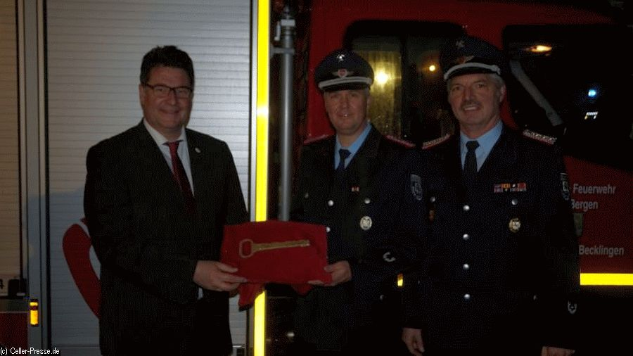 Neues Fahrzeug für die Feuerwehr Becklingen