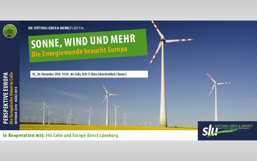 SONNE, WIND UND MEHR – Die Energiewende braucht Europa