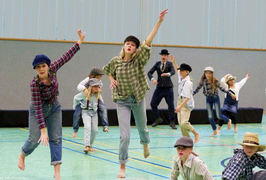 """Tanztheater Revue """"Movie Dance"""" für das Hospiz-Haus Celle"""