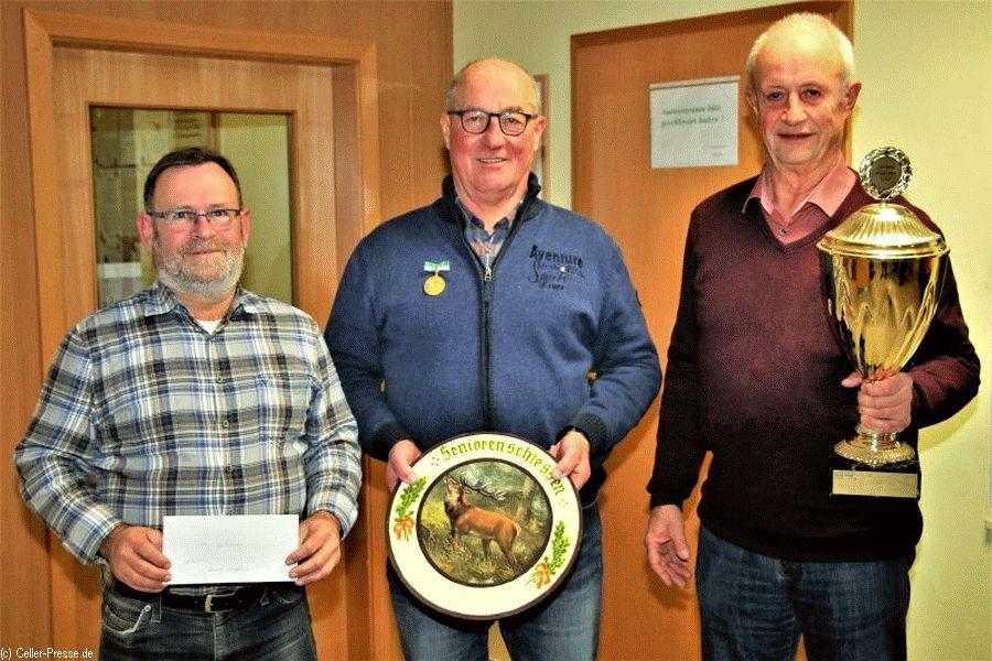 Walter Urbschat ist neuer Seniorenbester der Schützengemeinschaft Altenhagen