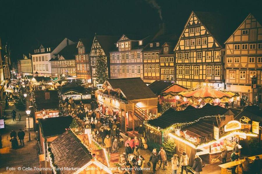 Vom 29. November bis 27. Dezember gibt es in Celle dieses Jahr eine große extra Portion Weihnachtsfeeling vom Schloss bis in die Altstadt