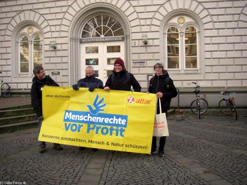 """Attac: """"Allgemeine Menschenrechte – Konzerne müssen handeln"""""""
