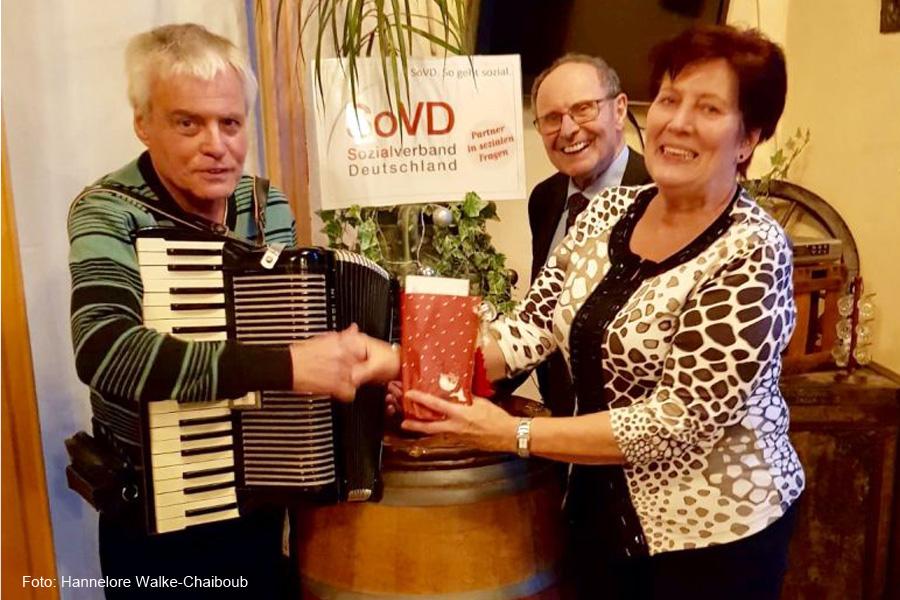 Besinnlicher Jahresabschluss des SoVD-Ortsverbands Celle-Neustadt