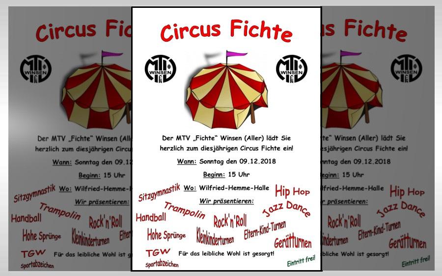 Circus Fichte am 9. Dezember in der Wilfried-Hemme-Halle