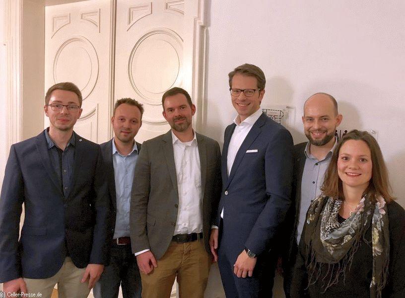 Die Wirtschaftsjunioren Heidekreis Celle wählten einen neuen Vorstand für die kommenden zwei Jahre