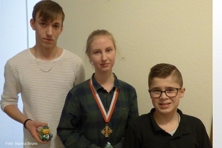 Erfolgreiches Jahr für Patricia Wiechmann: Winterkönigin der Jugend der Hehlentor Schützengesellschaft 2018