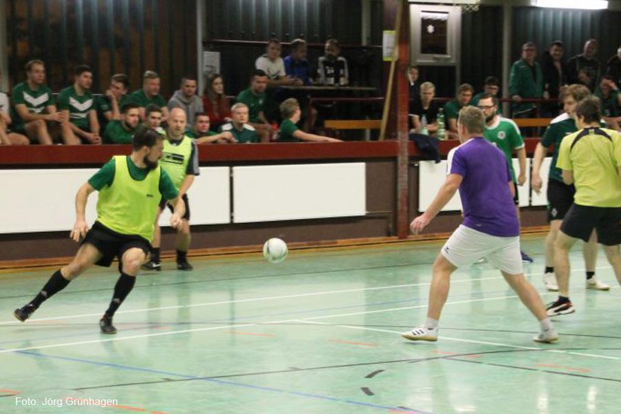 Fußball Hallenturnier des TuS Eversen/Sülze