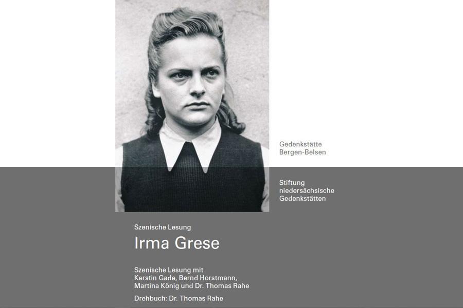 """IRMA GRESE: """"Beast of Belsen"""" – Szenische Lesung der Gedenkstätte Bergen-Belsen im Schlosstheater"""