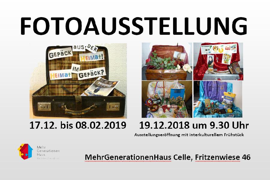 """Interkulturelles Frühstück und Eröffnung Fotoausstellung """"Gepäck aus der Heimat – Heimat im Gepäck!"""""""