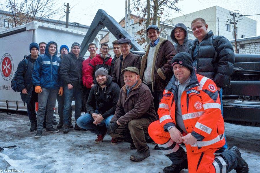 Johanniter-Weihnachtstrucker: Pakete aus Celle in der Ukraine eingetroffen – 2.500 Mal Hilfe für bedürftige Kinder, Senioren und Familien.
