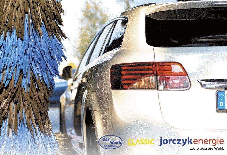 Jorczyk Energie wäscht für das Onkologische Forum e.V. – 5 CLASSIC Tankstellen und CAR WASH ALTENCELLE beteiligen sich.