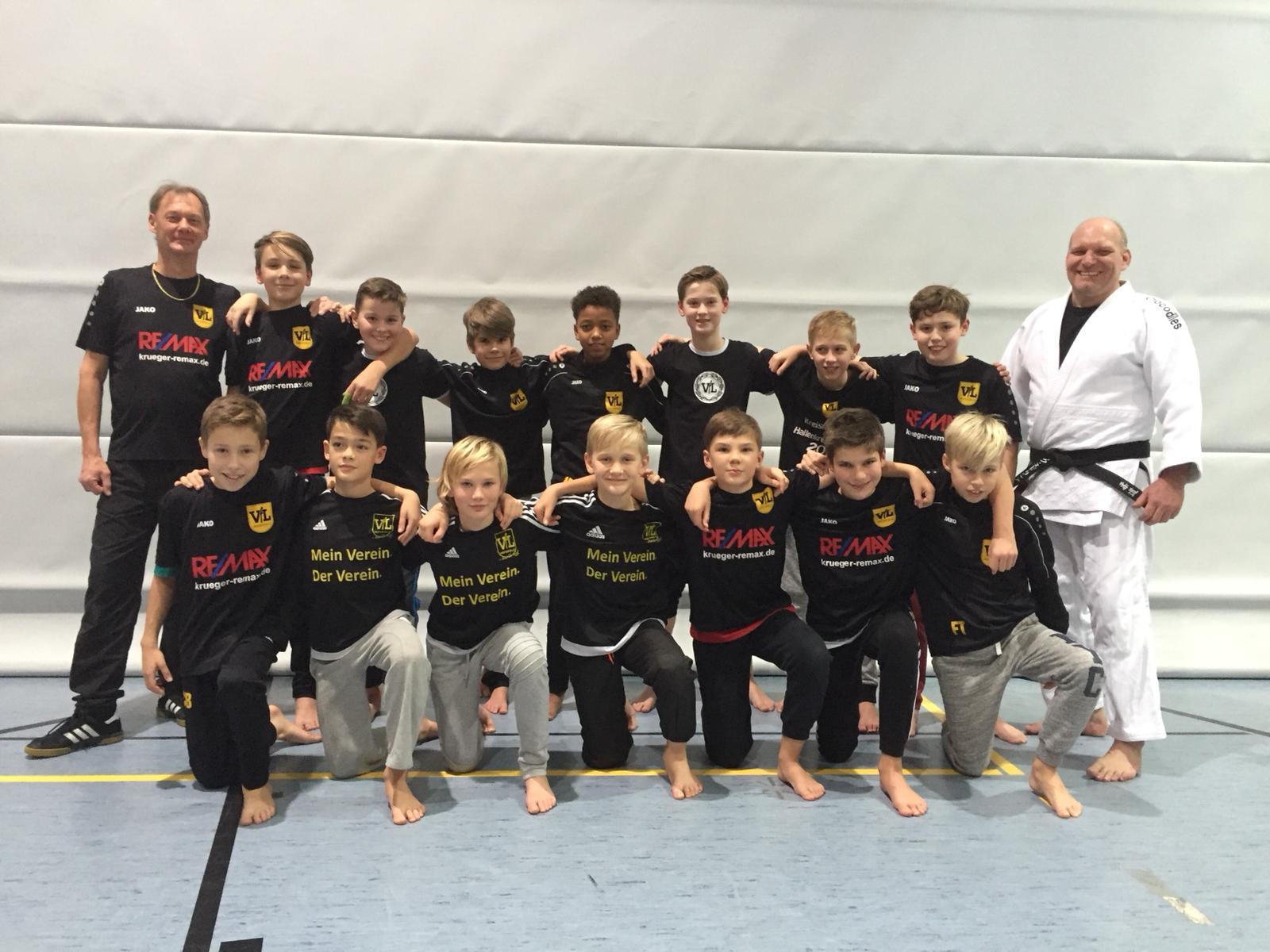 Judo und Fußball: Ein ganz besonderes Training