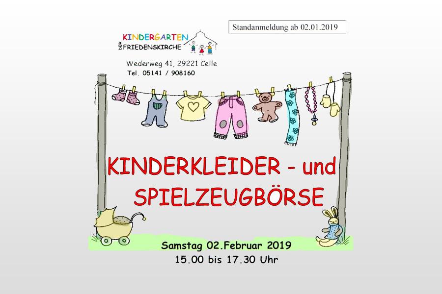 Kinderkleiderbörse in Celle – Anmeldung für Verkaufsstand ab 2. Januar