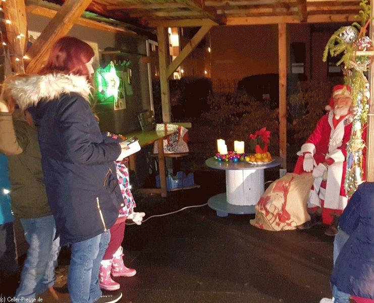 Leuchtende Kinderaugen in der Neustadt-Heese