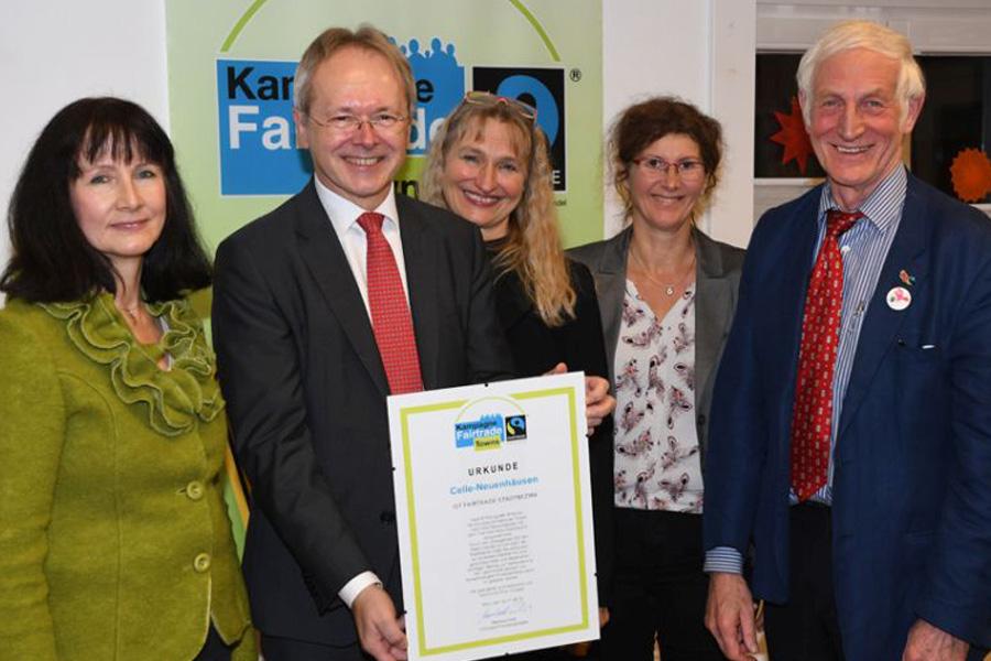 Neuenhäusen – Celles erster Fairtrade-Stadtteil
