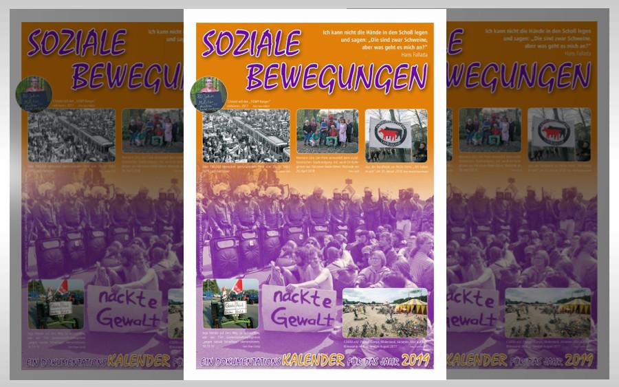 """Neuer """"Kalender-soziale-Bewegungen 2019"""" für die Region """"zwischen Castor und Kita, Meißendorf und Bauchtanz"""""""